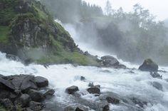 Norway in rain