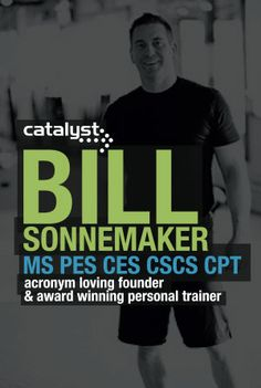 Bil will share his unique training techniques and tips and tricks for success at the #afpafitness conference