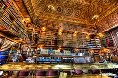 Library in Rhode Island State House. Providence, RI.