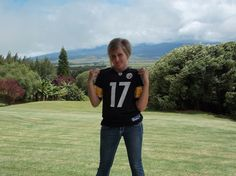 What? A Steelers fan...How did this get by me in the interview to marry my son? :o) Oh wait!  It's better than the Bronco fan that he is! A+ my dear!