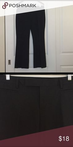 cb4bad3b497 Dark grey dress pants from Gap in 8 ankle Great condition dress pants in dark  grey from Gap. Size 8 Ankle. Modern boot style. GAP Pants Trousers