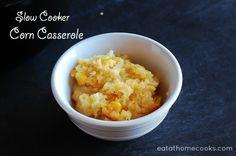 slow cooker corn casserole