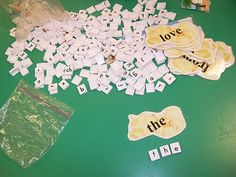 Sight word games for word work