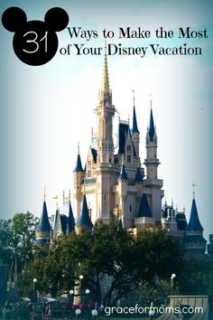 Disney Vacation Tips. How we did a 6 day vacation with 3 in the parks for under $650 per person!!