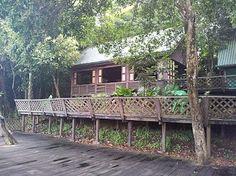 Kinabatangan River eco camp, Borneo