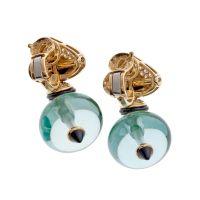 MARINA B Interchangeable Jelly Bean Earrings at 1stdibs