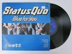 Buy LP Vinyl STATUS QUO - BLUE FOR YOU VG VGfor R69.00