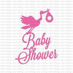 Baby shower svg stork baby svg baby svg stork svg dxf jpeg