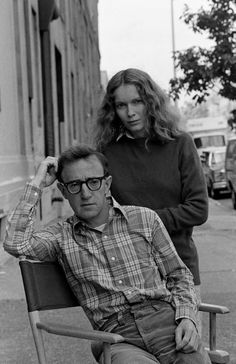 Woody Allen and Mia Farrow