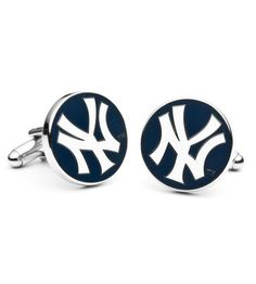 One of the groomsmen is my best guy friend. Maybe he could wear these :-) ~G   Cufflinks - Pro Sport Collection New York Yankees Cufflinks