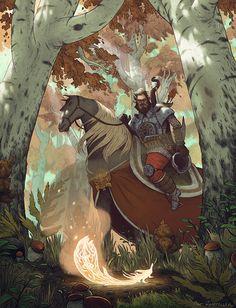 The Firebird and the Horse of Power by Matt Rockefeller