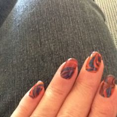 Tried using orange and blue for the Illini colors. ;-)