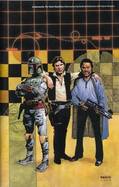 Boba Fettt, Han Solo & Lando Calrissian