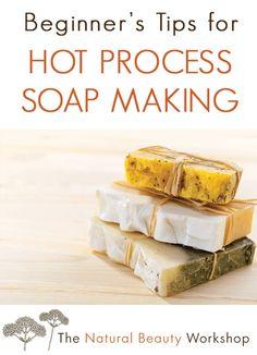 Hot Process Soap: Tips for Beginner HP Soap Makers Handmade Soap Recipes, Soap Making Recipes, Handmade Soaps, Diy Soaps, Natural Beauty Recipes, Soap Labels, Soap Maker, Cold Process Soap, Recipes For Beginners