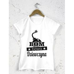 Koszulka damska na dzień kobiet Bombowa dziewczyna