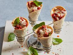 Sausage Pizza Cones Recipe | Food Network Kitchen | Food Network