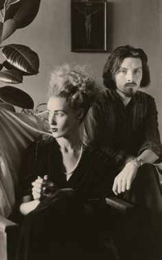 Lisa Gerrard and Brendan Perry. Dead Can Dance.