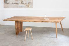 dining table handmade by BUCHHOLZBERLIN, regional oak