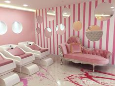Spa Glitz Hotel Punta Diamante – The World Nail Salon Design, Nail Salon Decor, Hair Salon Interior, Salon Interior Design, Beauty Bar Salon, Beauty Salon Design, Kids Salon, Beauty Room Decor, Salon Furniture