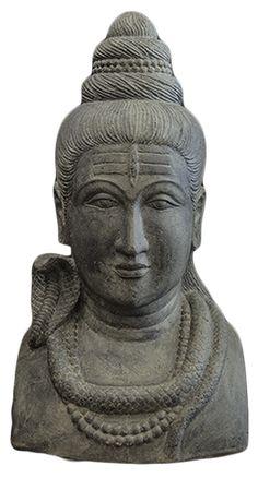 www.boeddha-damai.nl Shiva buste  Bijzonder mooi beeld met een rustgevende uitstraling.  Bekijk de prachtige collectie van Boeddha-Damai in onze gelijknamige webshop.  Gratis bezorgd en 14 dagen op zicht!  Boeddha-Damai heeft een groot exclusief assortiment betaalbare Boeddha's!  Op de foto ziet u: Shiva buste Afmetingen : breedte 45 cm x diepte 24 cm x hoogte 52 cm