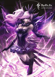 Dark Elementalist Lux (LoL - League of Legends) by Rachta.deviantart.com on @DeviantArt