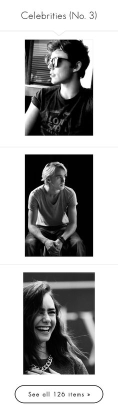 """""""Celebrities (No. 3)"""" by booklover1322 ❤ liked on Polyvore featuring 5sos, ashton irwin, pictures, 5 seconds of summer, ashton, harry potter, tom felton, people, draco malfoy and accessories"""