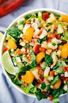 Tropical Pineapple Salad - Looks fresh and delicious!