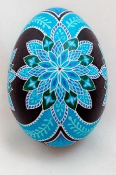 Pysanky and Batik Eggs by Dore Blue Harmony