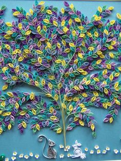 quilling tree--amazing detail