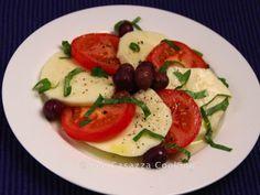 Big Mamma's Italian American Cooking: CAPRESE SALAD WITH ITALIAN OLIVES - Insalata Capre...