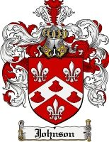 Johnson Coat of Arms / Johnson Family Crest