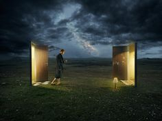 Surreal photography by Erik Johansson