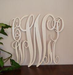 Family wooden monogram Unpainted Blended by BellaCreativeLetters, $80.00