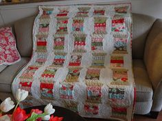 All the things I love.: Boutique Giveaway quilt now complete!