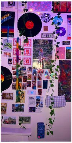 Indie Room Decor, Cute Room Decor, Teen Room Decor, Aesthetic Room Decor, Room Ideas Bedroom, Room Decor Bedroom, Aesthetic Style, Diy Bedroom, Bedroom Inspo