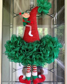 Christmas Mesh Wreaths, Deco Mesh Wreaths, Winter Wreaths, Burlap Wreaths, Christmas Nativity, Christmas Signs, Christmas Time, Christmas Ornaments, Diy And Crafts