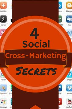 Social cross-marketing to lead your fans to your other social platforms. Social media links in photos, Google+ bio, Twitter and Pinterest sites, plus how to maximize social icons for travel and tourism pros. #cross-marketing