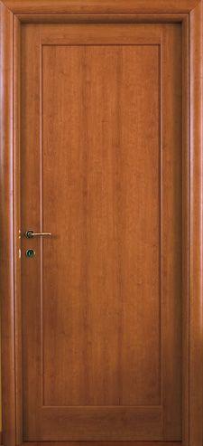 #Porte interne #modello 1F in legno #listellare. Rivestimento esterno in…