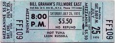 TunaBase: 1970-07-25