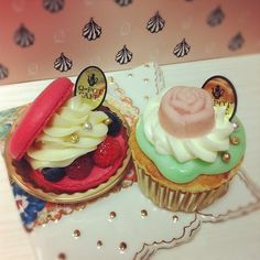 Q-pot cafe cupcake