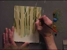 Painting Outside The Lines : A Positive Approach To Negative Painting - Part One - YouTube