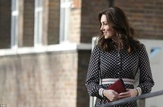 Discussing Monday's happy news, the Duchess said: 'William and I are absolutely thrilled. ...