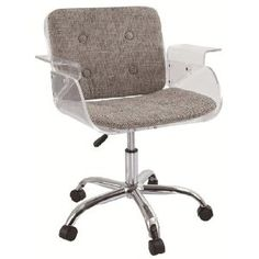 ghost office chair. ah another office delight to sit my tush ghost chair a