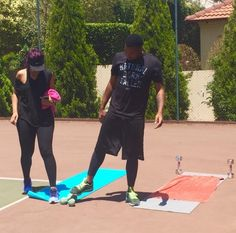 Itumeleng Khune and his bae Sbahle Mpisane working out together | Epyk Living