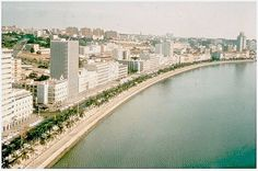Luanda, capital of Angola, 1970 Portugal, Congo, Places Of Interest, Our World, Montenegro, Portuguese, Africa, 1970s, River