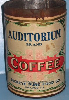 Auditorium Brand Coffee