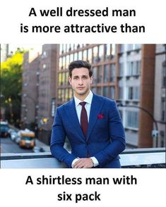 More attractive men – QUOTES FOR HIM