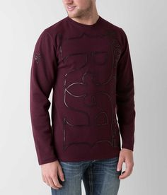 Rock Revival Double R Thermal Shirt - Men's Tops | Buckle