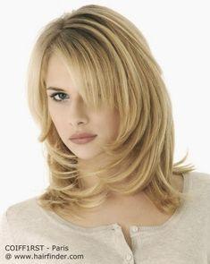 Resultado de imagen para peinados para cabellos medianos