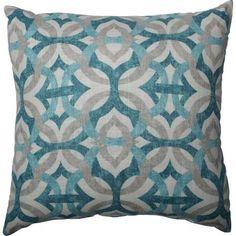 light blue throw pillows - Google Search